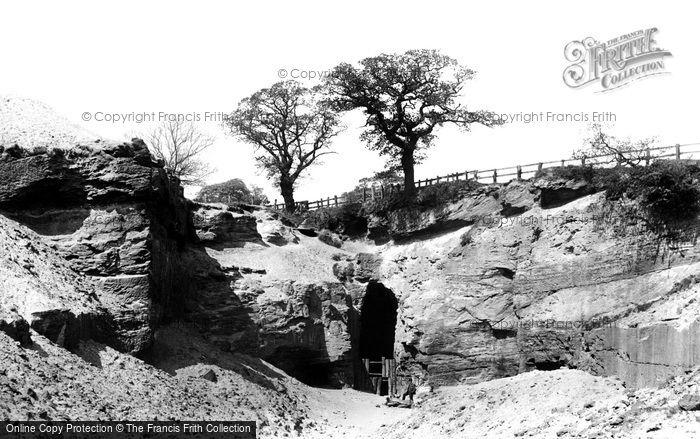 Photo of Alderley Edge, West Mine 1896
