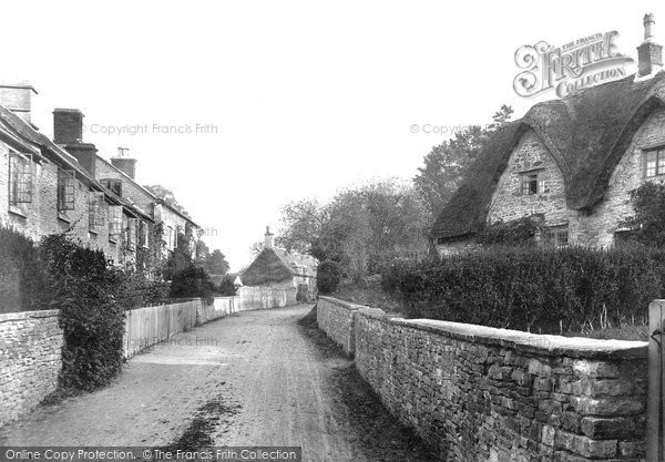 Photo of Alderley, Village 1904