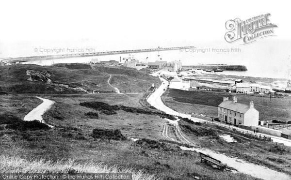 Photo of Alderney, Harbour 1915