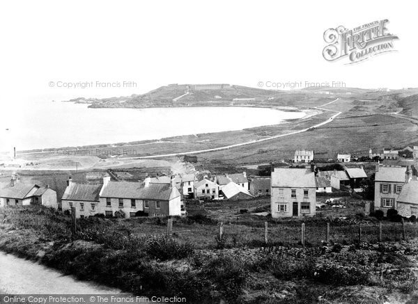 Alderney, Harbour And Fort Albert 1915