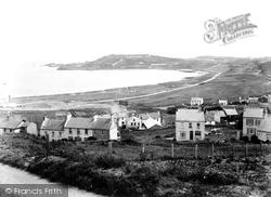 Alderney, Harbour And Fort Albert 1915