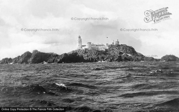 Photo of Alderney, The Casquets Lighthouse c.1900