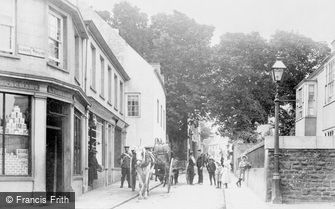 Alderney, Victoria Street c1915