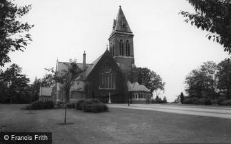 Aldershot, All Saints (Garrison) Church c1965