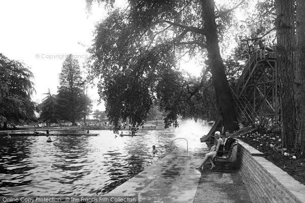 Photo of Aldershot, Bathing Pool 1931