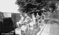 Aldershot, Bathing Pool, Feet First 1931