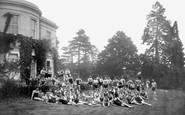 Aldershot, Bathing Pool, Sun Bathing On The Lawn 1931