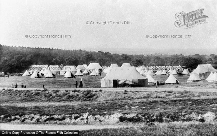 Photo of Aldershot, Borley Camp 1898