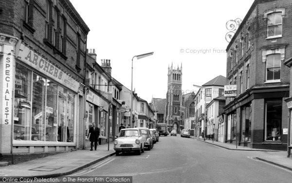 Photo of Aldershot, c.1965