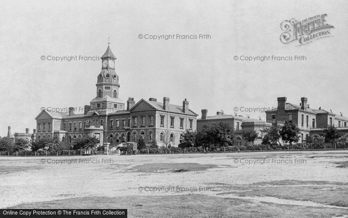 Photo of Aldershot, Cambridge Military Hospital 1891