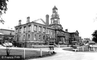 Aldershot, Cambridge Military Hospital c1965