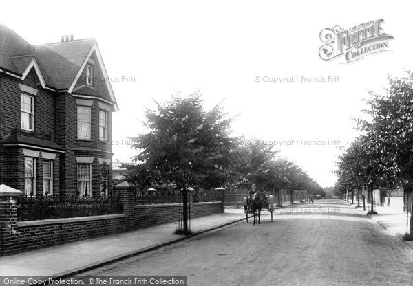 Photo of Aldershot, Cargate Avenue 1898