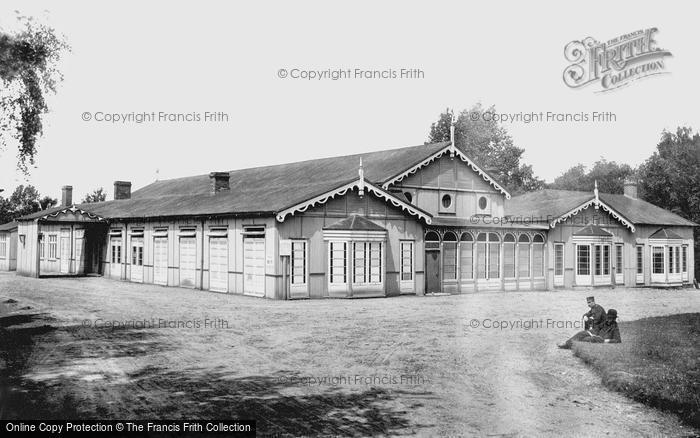 Photo of Aldershot, Clubhouse 1892