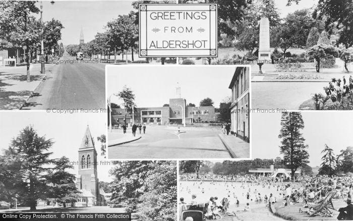 Photo of Aldershot, Composite c.1960