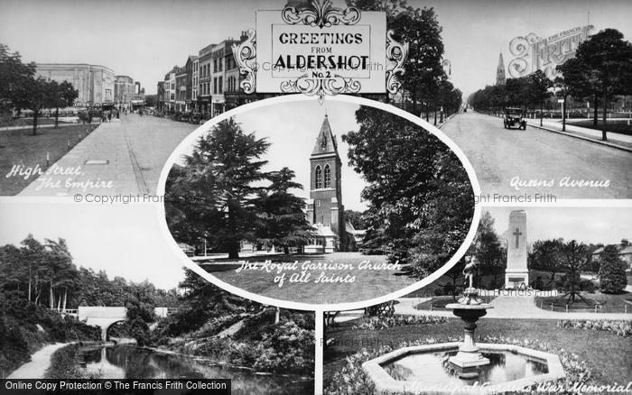 Photo of Aldershot, Composite c.1960