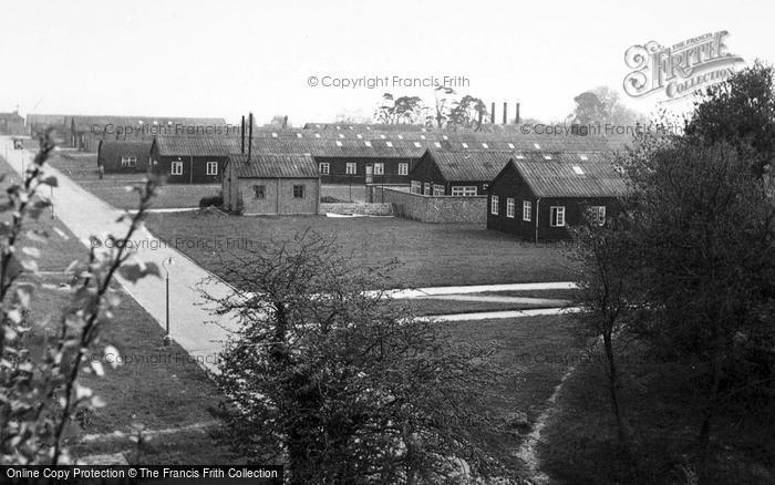 Photo of Aldershot, Connaught Hospital c.1955