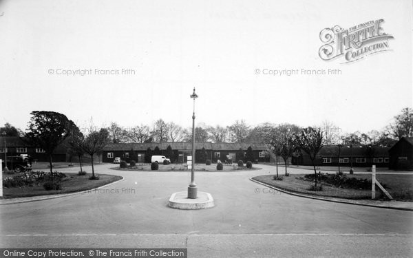 Photo of Aldershot, Entrance To Connaught Hospital c.1955