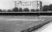 Aldershot, Football Ground c1965