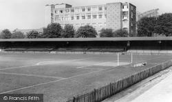 Aldershot, Football Ground c.1965