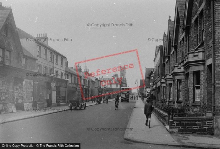 Photo of Aldershot, Grosvenor Road 1931