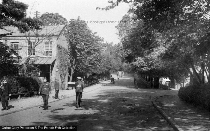Photo of Aldershot, Gun Hill 1918