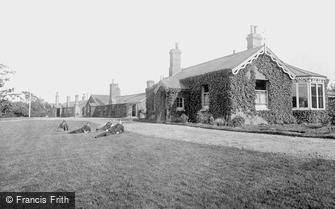 Aldershot, Headquarters Huts 1892