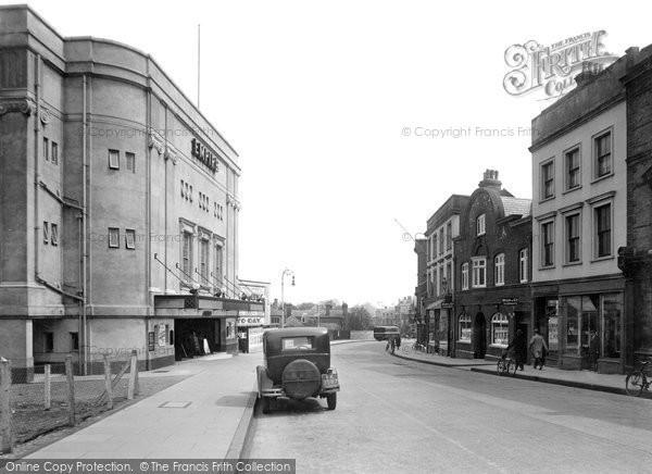Photo of Aldershot, High Street 1931