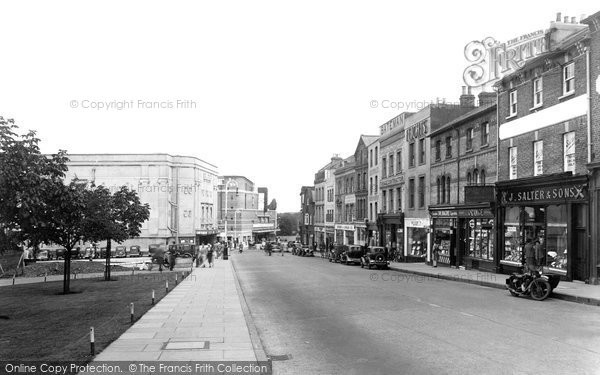 Photo of Aldershot, High Street 1938