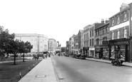 Aldershot, High Street 1938