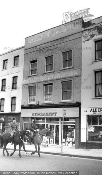 Photo of Aldershot, High Street c.1965