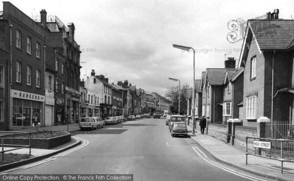 Photo of Aldershot, High Street c.1965