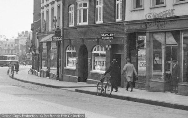 Photo of Aldershot, High Street, May & Co 1931
