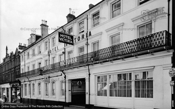 Photo of Aldershot, Hotel Victoria c.1955