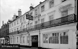 Aldershot, Hotel Victoria c.1955