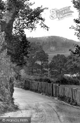 Hungry Hill From Ayling Lane 1923, Aldershot