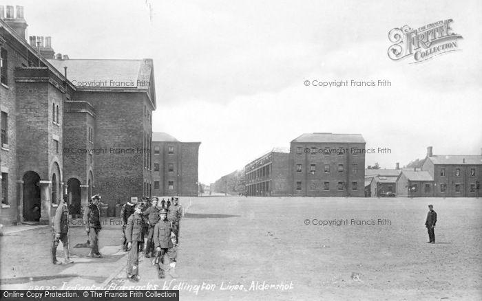 Photo of Aldershot, Infantry Barracks 1891