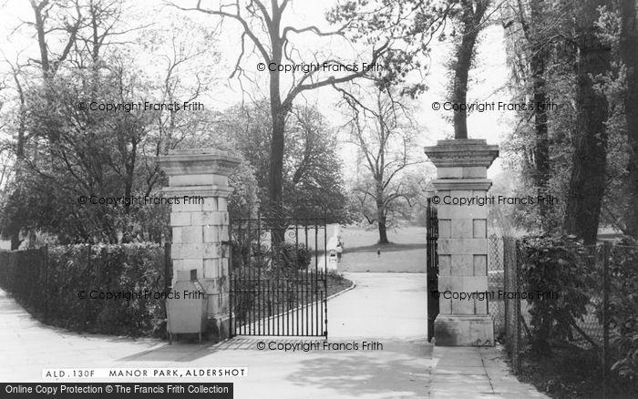 Photo of Aldershot, Manor Park c.1965