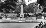 Aldershot, Municipal Gardens c.1955