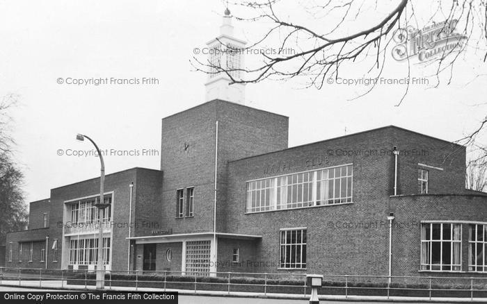 Photo of Aldershot, Naafi Club c.1955
