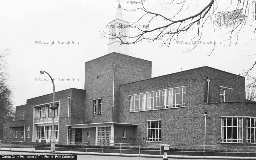 Aldershot, NAAFI Club c1955