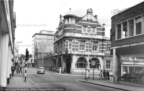 Photo of Aldershot, Post Office c.1965