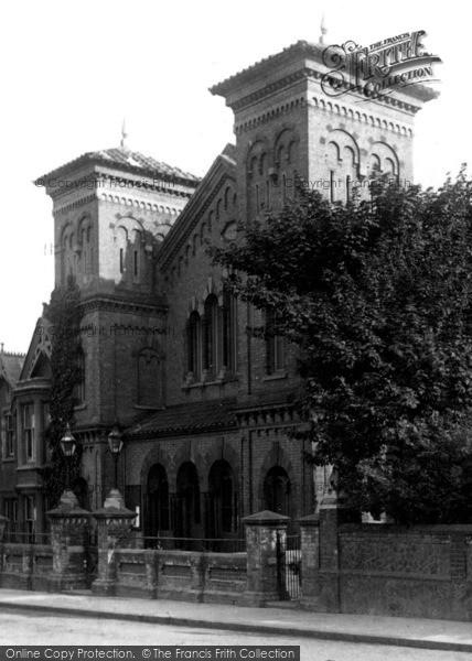 Photo of Aldershot, Presbyterian Church 1898