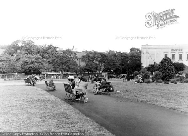 Photo of Aldershot, Princes Gardens c.1955