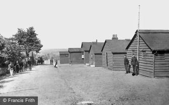Aldershot, 'Q' Line Huts 1892