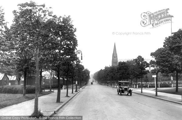 Photo of Aldershot, Queen's Avenue 1928