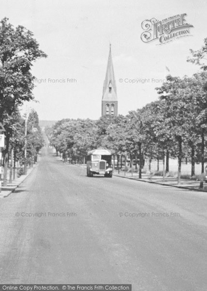Photo of Aldershot, Queen's Avenue, Cathedral Church Of St Michael And St George c.1955