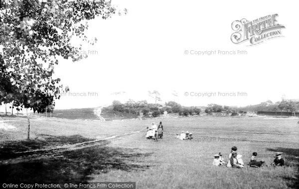 Photo of Aldershot, Redan Hill 1891
