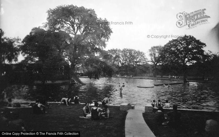 Photo of Aldershot, Swimming Pool 1931