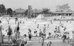 Aldershot, The Bathing Pool c.1955