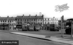 Aldershot, The Bus Station c.1965